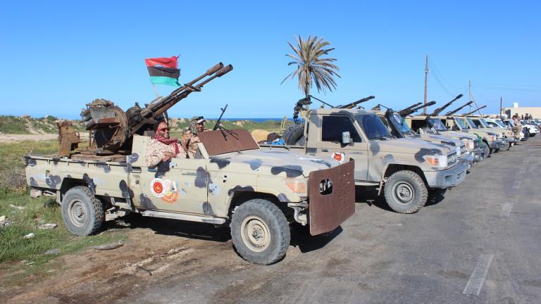 ДЕСЕТКИ СА ВЕЧЕ УБИТИТЕ И РАНЕНИТЕ ПРИ БОЕВЕТЕ В ЛИБИЯ