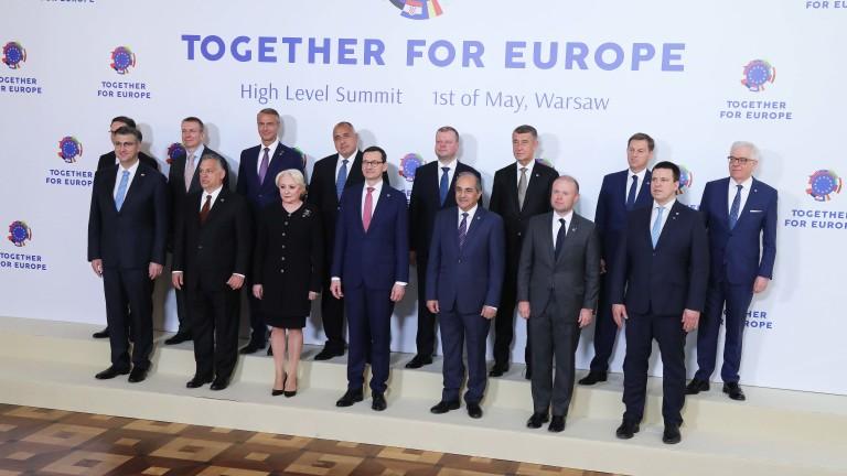 """ПРЕМИЕРЪТ БОРИСОВ ОТ ВАРШАВА: ПОКАЗАХМЕ, ЧЕ МОЖЕМ ДА БЪДЕМ """"КОРМИЛОТО НА ЕС"""""""