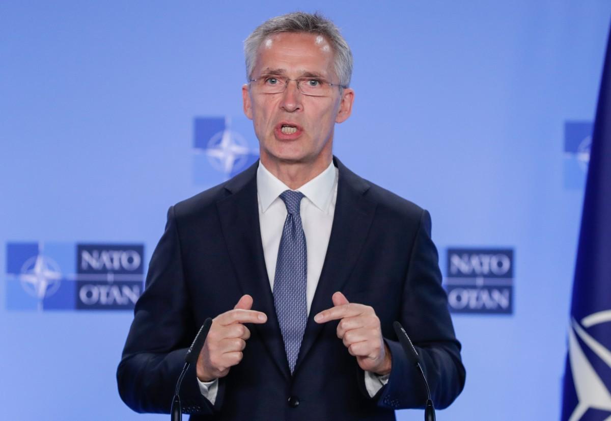 ГЕНЕРАЛНИЯТ СЕКРЕТАР НА НАТО СТОЛТЕНБЕРГ: РУСИЯ Е ЗАПЛАХА ЗА НАТО