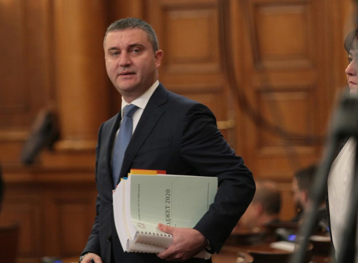 МИНИСТЪР ГОРАНОВ ОТЧИТА ИЗПЪЛНЕНИЕТО НА БЮДЖЕТ 2019