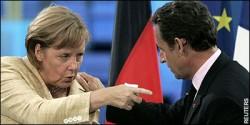 МЕРКЕЛ И САРКОЗИ СЕ ИЗПРАВЯТ СРЕЩУ ЕС ЗА ФИСКАЛНИЯ КОНТРОЛ
