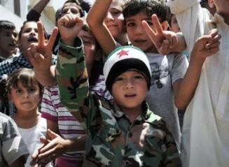 БРОЯТ НА ДЕЦАТА БЕЖАНЦИ ОТ КОНФЛИКТА В СИРИЯ, КОЙТО ПРОДЪЛЖАВА ВЕЧЕ ПОВЕЧЕ ОТ ДВЕ ГОДИНИ, ДОСТИГНА 1 МИЛИОН
