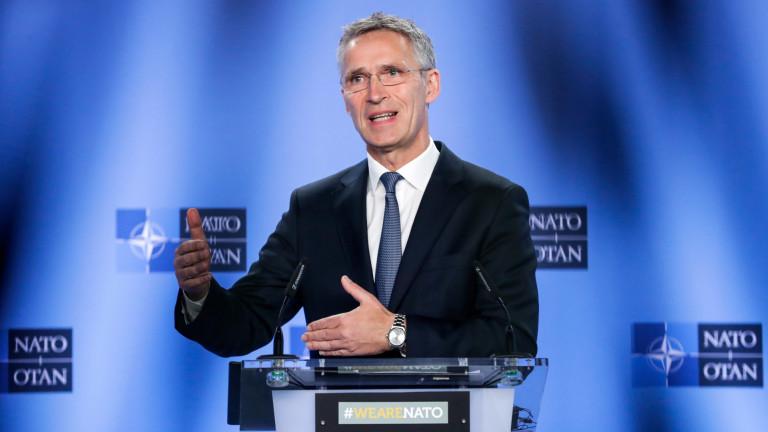 СТОЛТЕНБЕРГ: НАТО КАНИ СЕВЕРНА МАКЕДОНИЯ СЪВСЕМ СКОРО