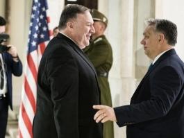 ПОМПЕО КЪМ ОРБАН: ПУТИН ЗАБИВА КЛИН В НАТО